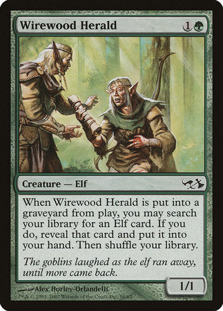 Wirewood Herald [Duel Decks: Elves vs. Goblins] | Pro Gamers and Collectables