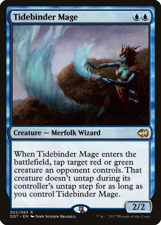 Tidebinder Mage [Duel Decks: Merfolk vs. Goblins] | Pro Gamers and Collectables