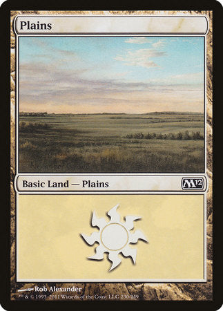 Plains (230) [Magic 2012] | Pro Gamers and Collectables