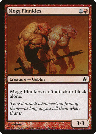 Mogg Flunkies [Premium Deck Series: Fire and Lightning] | Pro Gamers and Collectables