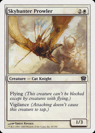 Skyhunter Prowler [Ninth Edition] | Pro Gamers and Collectables