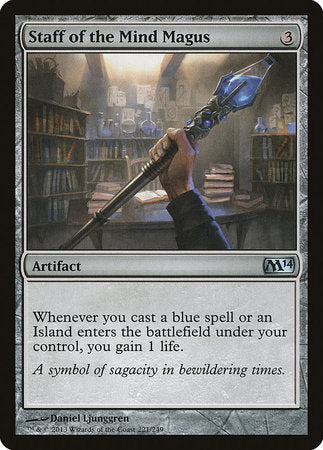 Staff of the Mind Magus [Magic 2014] | Pro Gamers and Collectables