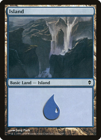 Island (235a) [Zendikar] | Pro Gamers and Collectables