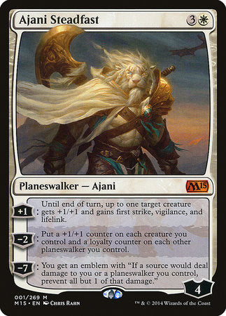 Ajani Steadfast [Magic 2015] | Pro Gamers and Collectables