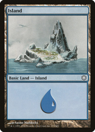 Island (373) [Coldsnap Theme Decks] | Pro Gamers and Collectables