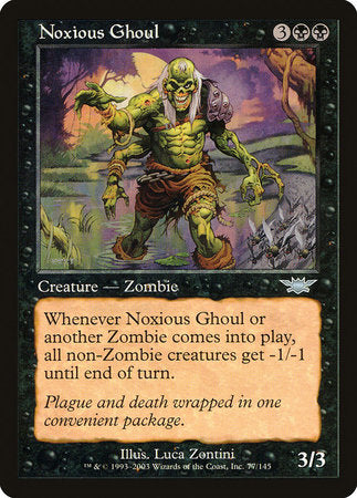 Noxious Ghoul [Legions] | Pro Gamers and Collectables
