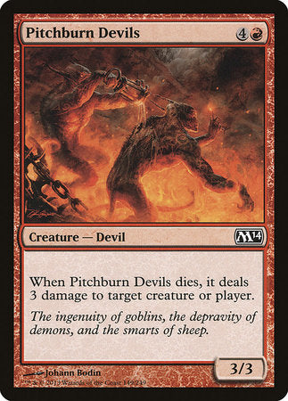 Pitchburn Devils [Magic 2014] | Pro Gamers and Collectables
