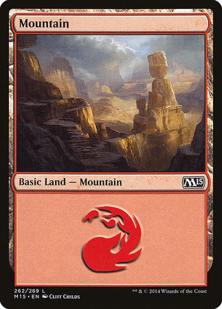 Mountain (262) [Magic 2015] | Pro Gamers and Collectables