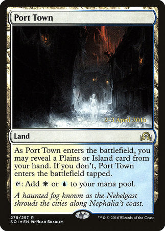 Port Town [Shadows over Innistrad Promos] | Pro Gamers and Collectables