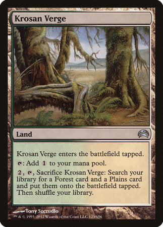 Krosan Verge [Planechase 2012] | Pro Gamers and Collectables