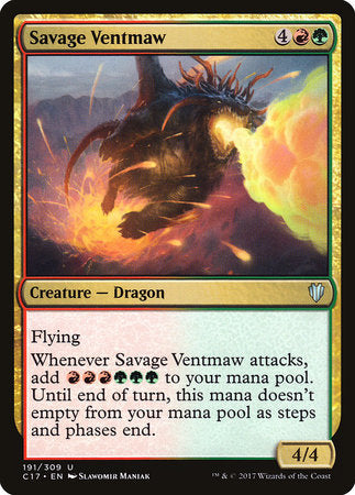 Savage Ventmaw [Commander 2017] | Pro Gamers and Collectables