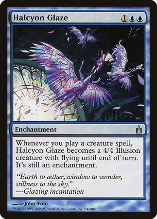 Halcyon Glaze [Ravnica: City of Guilds] | Pro Gamers and Collectables