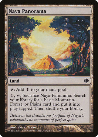 Naya Panorama [Shards of Alara] | Pro Gamers and Collectables