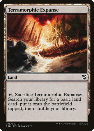 Terramorphic Expanse [Commander 2018] | Pro Gamers and Collectables