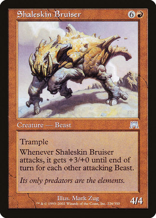 Shaleskin Bruiser [Onslaught] | Pro Gamers and Collectables