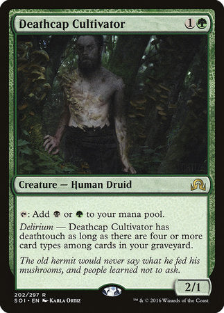 Deathcap Cultivator [Shadows over Innistrad] | Pro Gamers and Collectables