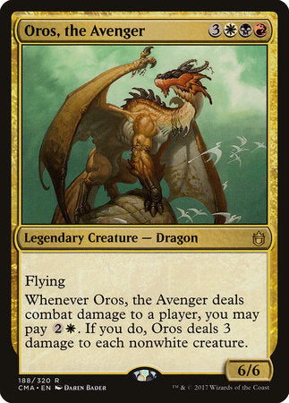 Oros, the Avenger [Commander Anthology] | Pro Gamers and Collectables