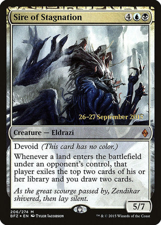 Sire of Stagnation [Battle for Zendikar Promos] | Pro Gamers and Collectables