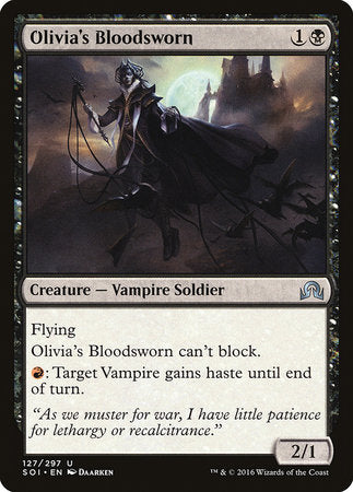 Olivia's Bloodsworn [Shadows over Innistrad] | Pro Gamers and Collectables
