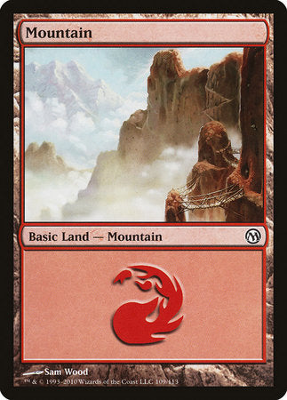 Mountain (109) [Duels of the Planeswalkers] | Pro Gamers and Collectables