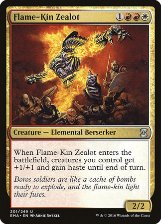 Flame-Kin Zealot [Eternal Masters] | Pro Gamers and Collectables
