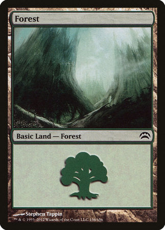 Forest (156) [Planechase 2012] | Pro Gamers and Collectables