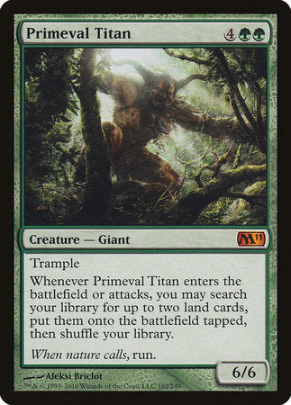 Primeval Titan [Magic 2011] | Pro Gamers and Collectables