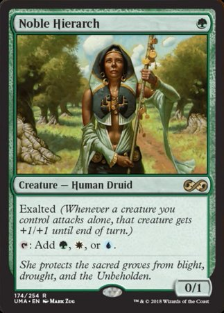 Noble Hierarch [Ultimate Masters] | Pro Gamers and Collectables