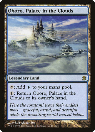 Oboro, Palace in the Clouds [Saviors of Kamigawa] | Pro Gamers and Collectables