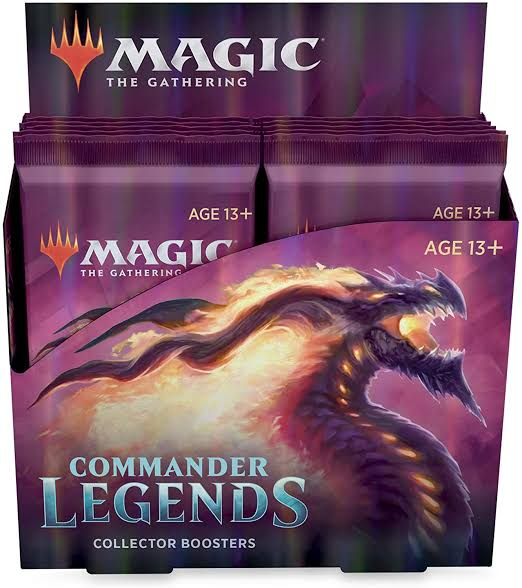 Commander Legends Collector Booster Box (Mid November 2020) | Pro Gamers and Collectables