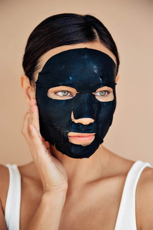 Skinesque 3-Step Brightening Charcoal Mask
