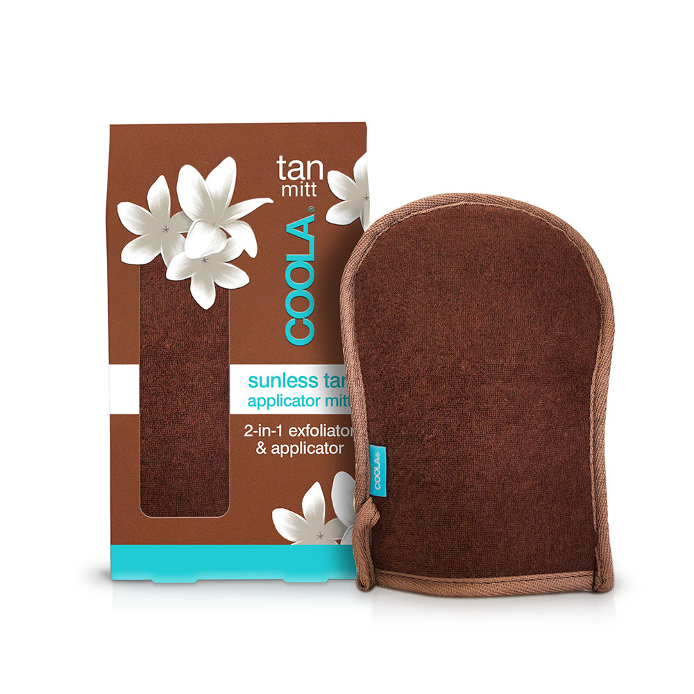 COOLA Sunless Tan Applicator & Exfoliator 2-in-1 Mitt