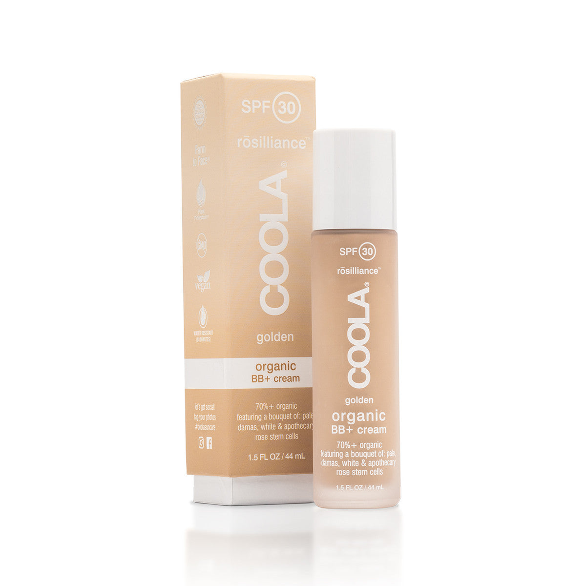 COOLA Rosilliance Organic BB+ Cream SPF 30 - Golden