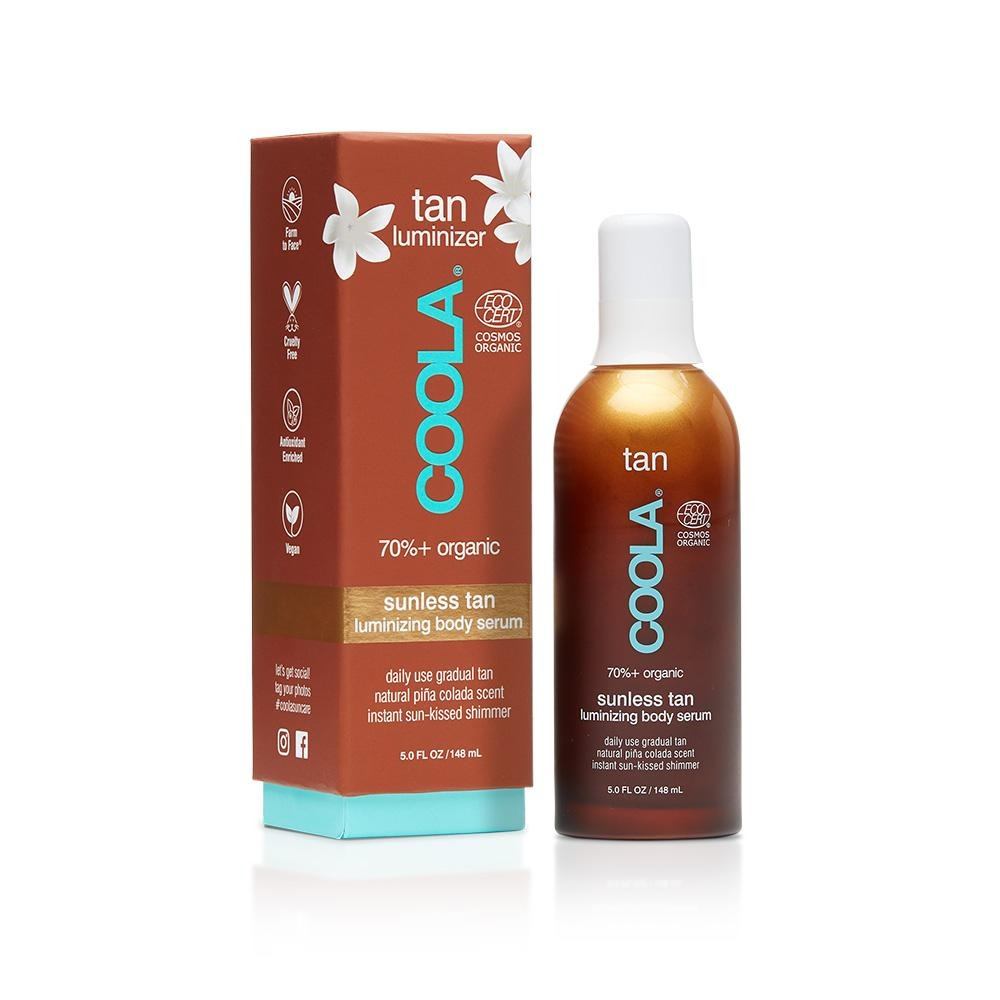 COOLA Suncare Organic Sunless Tan Luminizing Body Serum