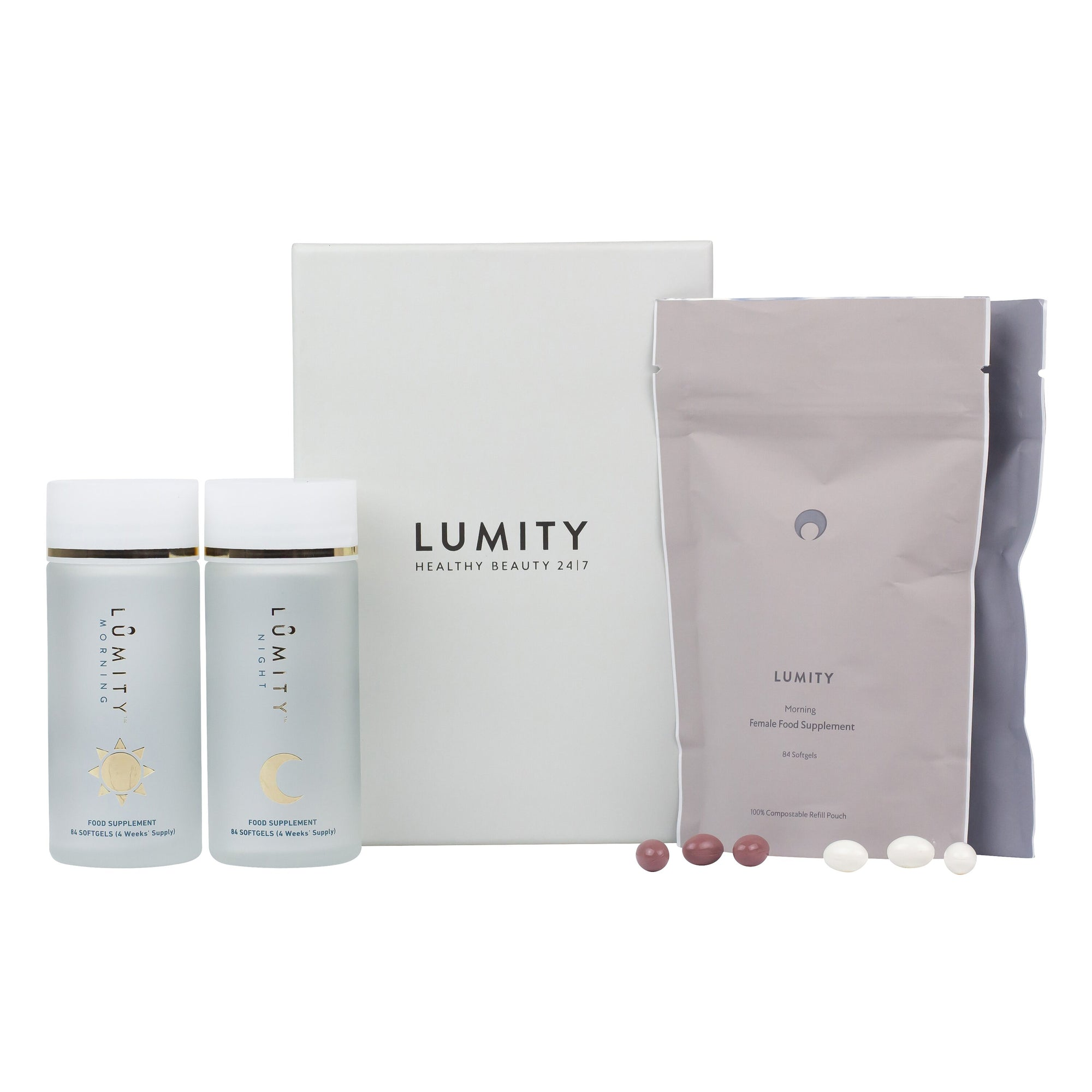 Lumity Day & Night Nutritional Supplements