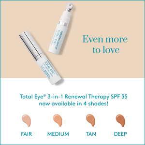 Colorescience NEW Total Eye 3-in-1 Renewal in 4 Shades