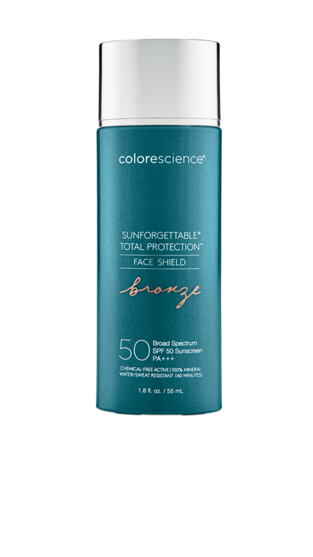 Colorescience Sunforgettable Total Protection BRONZE Face Shield SPF 50 PA+++