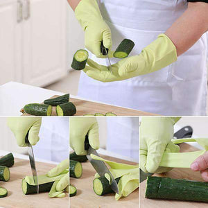 Super Durable Household Cleaning Gloves(3 Pair)