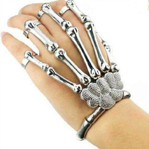 Punk Rock Skeleton Hand Bangle
