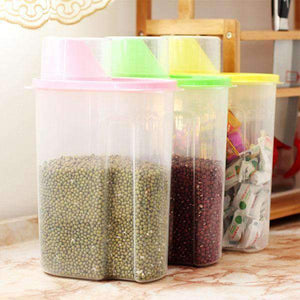 Airtight Plastic Food Storage Container(3 Pack)