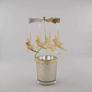 Romantic Fairy Rotating Candlestick
