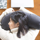 Inflatable Eggplant Travel Pillow