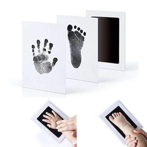 Baby Handprint & Footprint Clean-touch Ink Pad(1 Set)