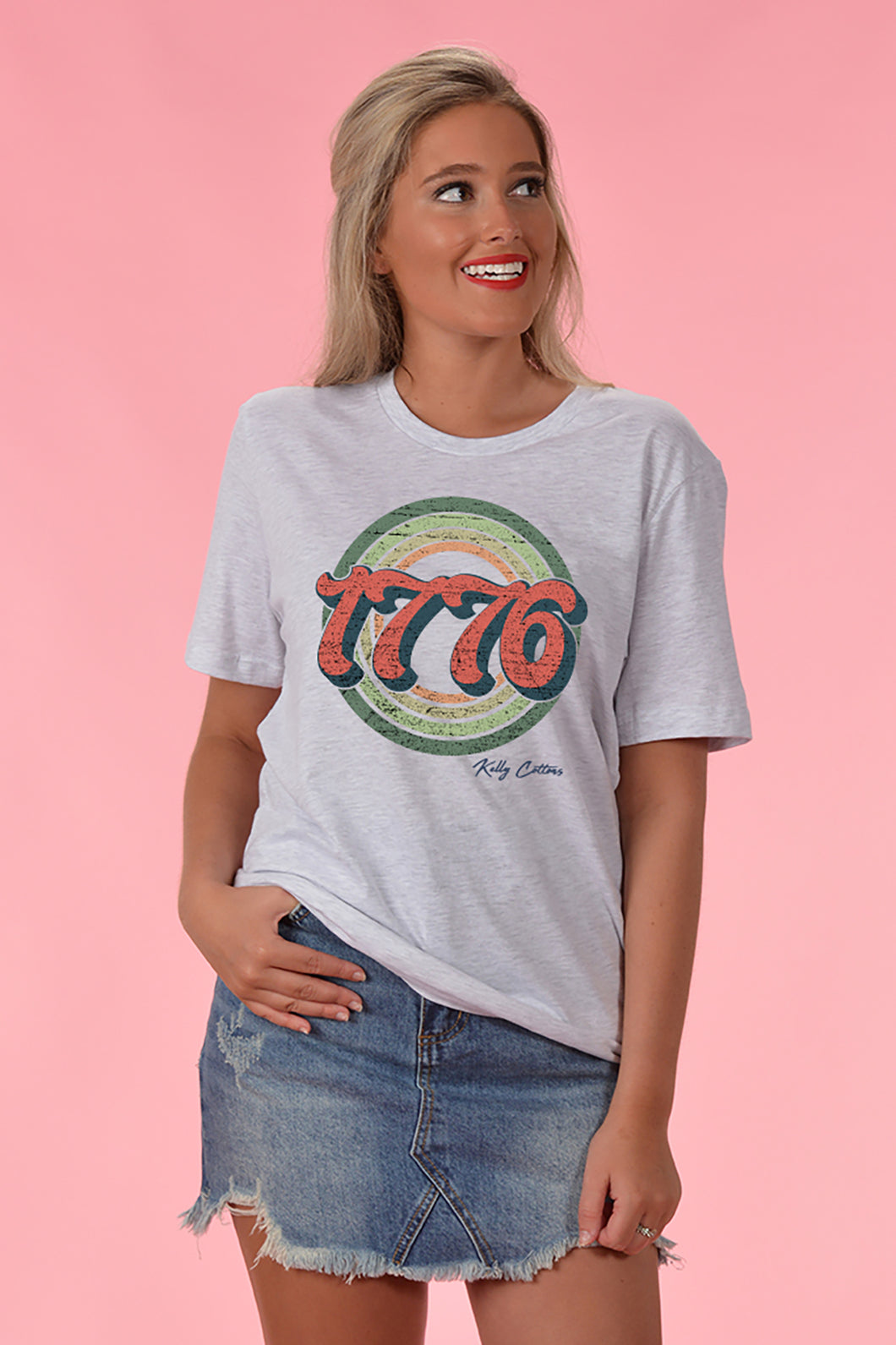 1776 Tee - Kelly Cottons