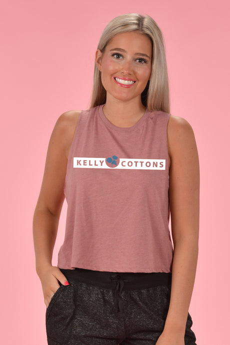 KC Banner Tank - Kelly Cottons