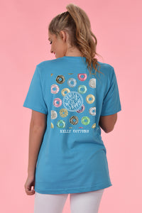 Donut Worry Be Happy - Kelly Cottons