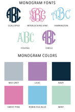 Load image into Gallery viewer, Monogrammed Cropped Sweatshirt
