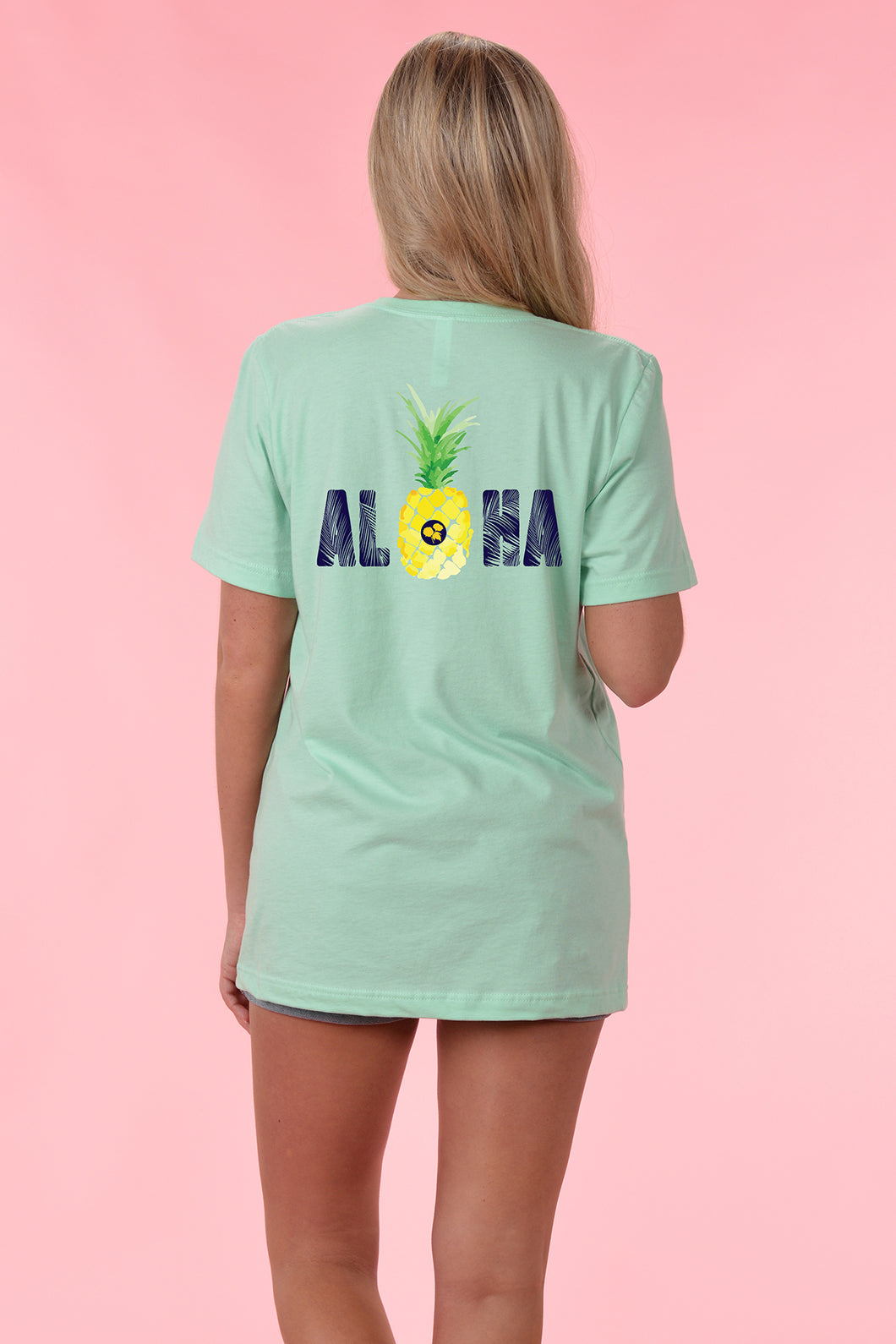 Aloha - Front and Back - Kelly Cottons