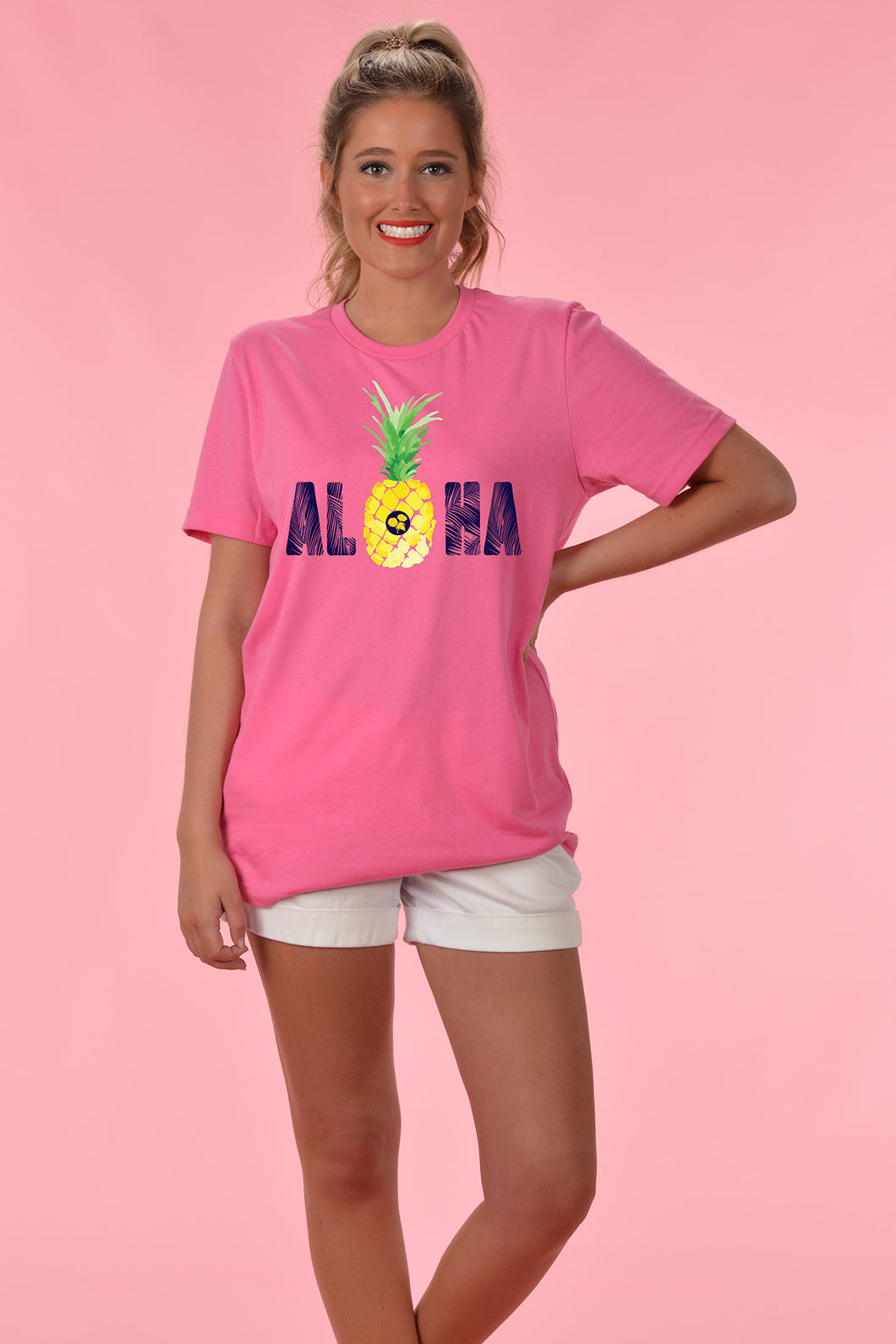 Aloha - Front Only - Kelly Cottons