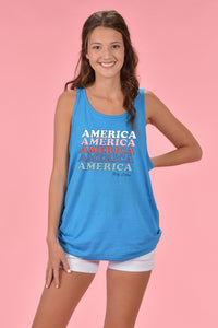 America Tank - Kelly Cottons